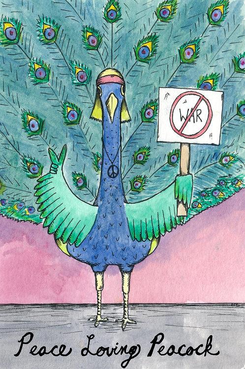 Peace Loving Peacock