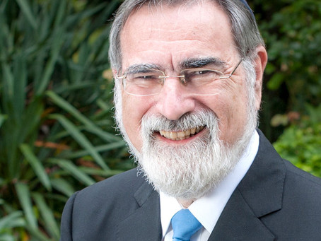Fallece el gran Rabino Jonathan Sacks