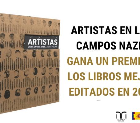 """""""Artistas en los Campos Nazis"""" recibe un Premio a los libros Mejor Editados del 2019"""