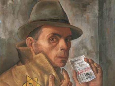 Felix Nussbaum y el último tren a Auschwitz