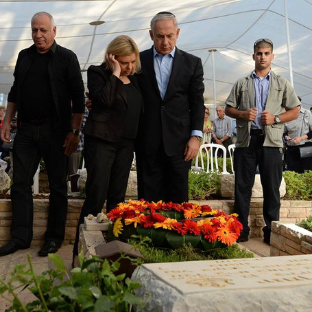 Emotiva carta de Benjamín Netanyahu a su hermano caído