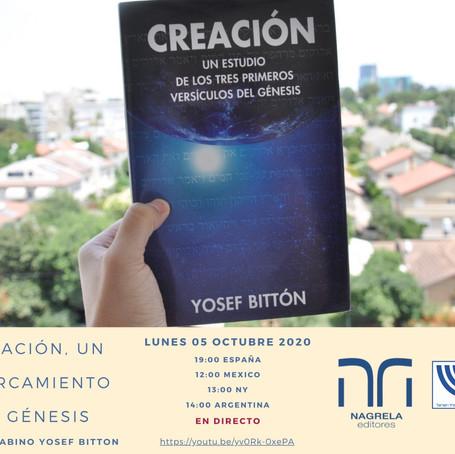 """""""Creación. Un acercamiento al Génesis"""", por el rabino Yosef Bittón"""