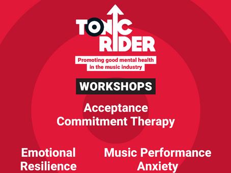 Tonic Rider Workshops