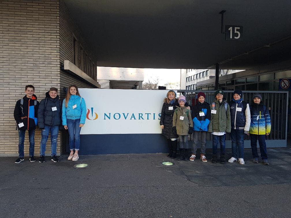 Brainteam vor Novartis