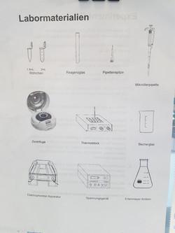 Labormaterial