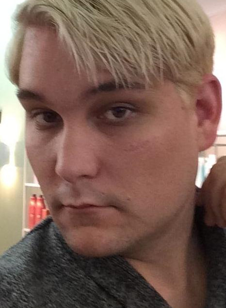 Brandon as Blonde