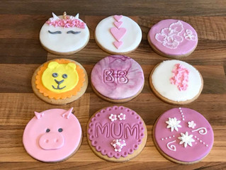 Iced cookies!