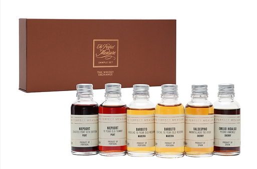 DISCOVER FORTIFIED WINES VIRTUAL TASTING SET 6X3CL