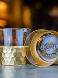 2 GOLD ABERFELDY ROCKS GLASSES