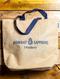 BOMBAY SAPPHIRE JUTE SHOPPER BAG