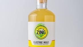 ELECTRIC GINGER VODKA MULE - 500ML