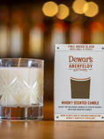 DEWAR'S WHISKEY SCENTED CANDLE