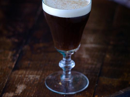 AN IRISH COFFEE TO GO...