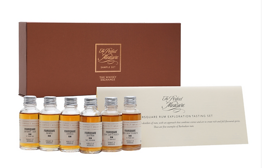 FOURSQUARE GIFT SET LIMITED BOTTLINGS 2020 EDITION 6X3CL 2021
