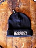 HOMEBOY BAR BEANIE - BLACK