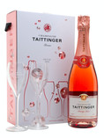 TAITTINGER BRUT PRESTIGE ROSE CHAMPAGNEGLASS SET