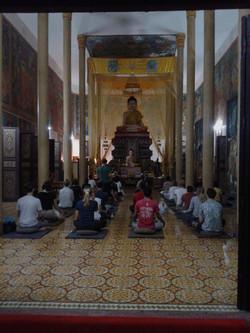 W pagodzie Wat Langka