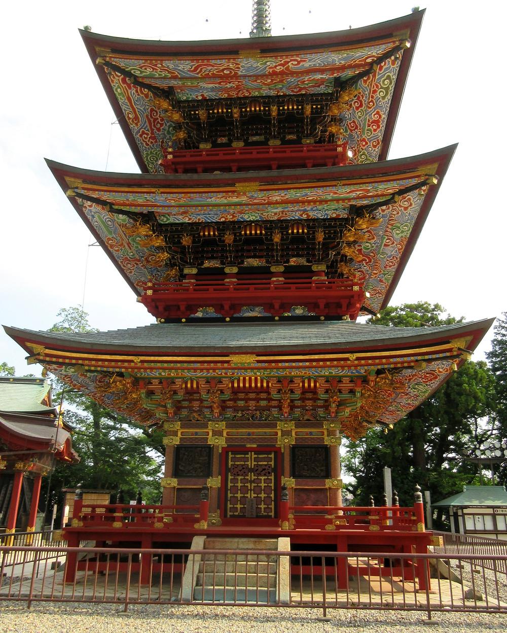 Świątynia, Japonia, Tokio, podróże