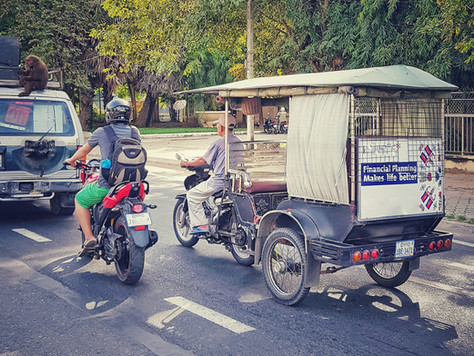 Tuk-tuk, cz. 1 | Phnompeński tuktukarz