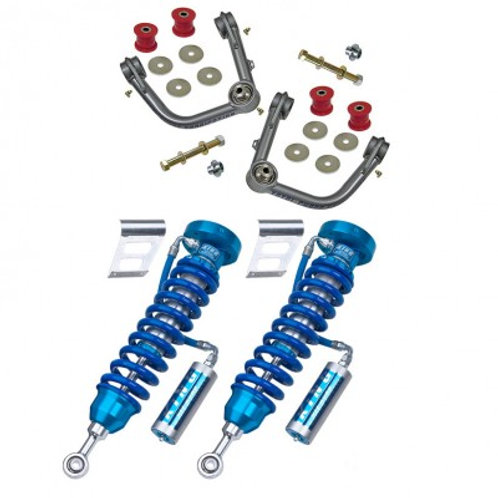 KING COILOVER / TOTAL CHAOS UNI-BALL CONTROL ARM PACKAGE