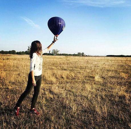 Zbor balon cu aer cald