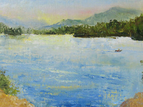 Residency Reflections: Whiskeytown National Recreation Area, August 2017