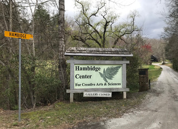 Residency Reflections: Hambidge Center for the Arts and Sciences March - April 2018