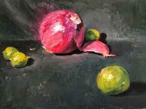 Red Onion and Limes