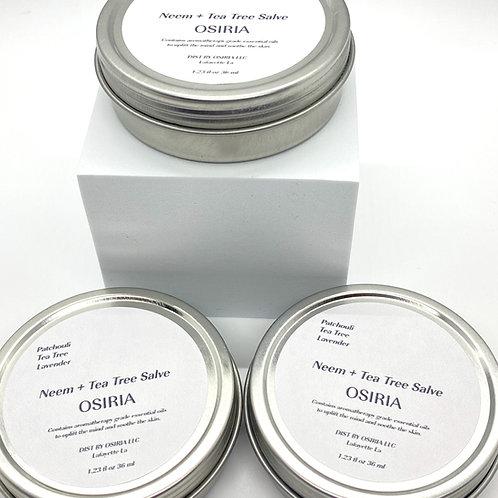 Neem + Tea Tree Salve, Eczema Salve