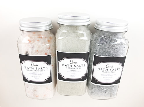 Botanical Bath Salt Spa Collection Detoxify Cleanse All Natural