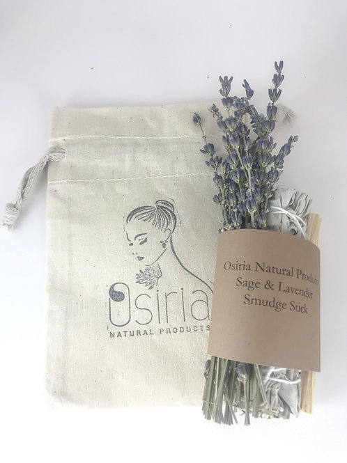 Floral Lavender and White Sage Smudge Sticks Rituals Ceremonies Cleansing