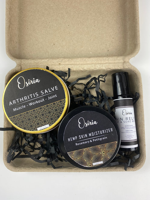 Pain Relief  Self- Care, Spa Kit