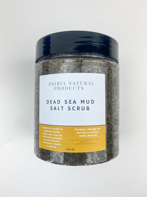 All Natural Salt Scrub, Dead Sea Mud, Exfoliating scrub