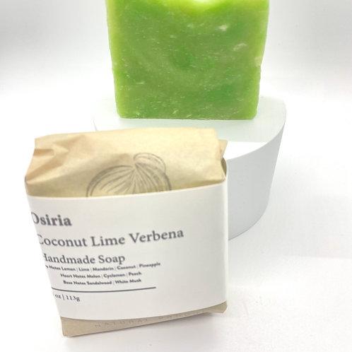 Coconut Lime Verbena, Handmade Soap