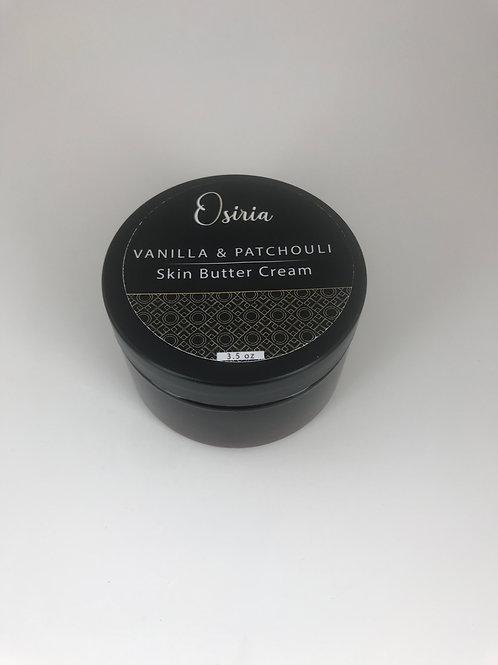 Body Butter Skin Cream Vanilla & Patchouli – Natural Skincare
