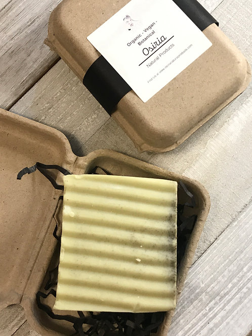 Basil Handmade Soap, Natural Citrus Soap, Lemon-Lime Basil Soap