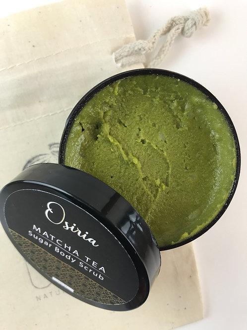 Matcha Green Tea, Body Scrub, with Coconut Oil, Natural scrub,Sugar Scrub