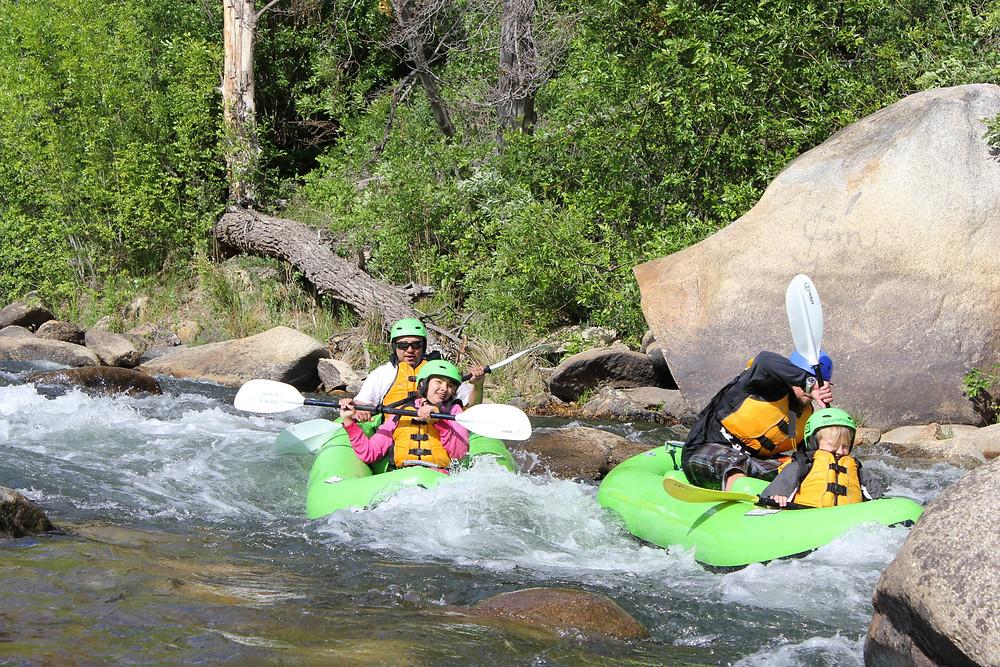 kayaking kern river