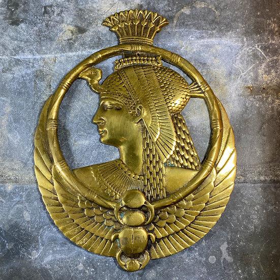 Plaque murale en bronze