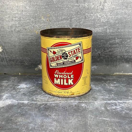 Boîte de lait en poudre GOLDEN STATE