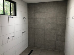 Public Pool Shower Upgrade