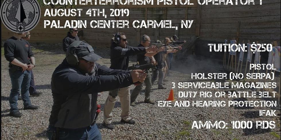 Counter Terrorism Pistol Operator 1