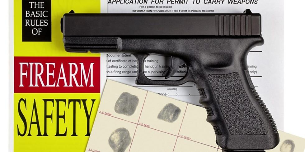 Basic Handgun Safety (Putnam permit)