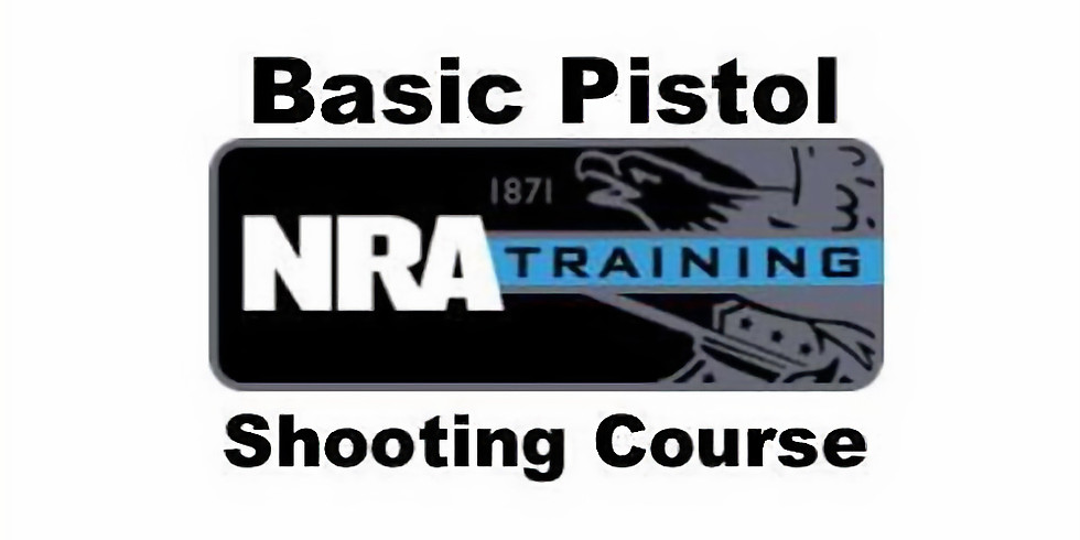 NRA Basic Pistol Shooting Course - Instructor Led Only