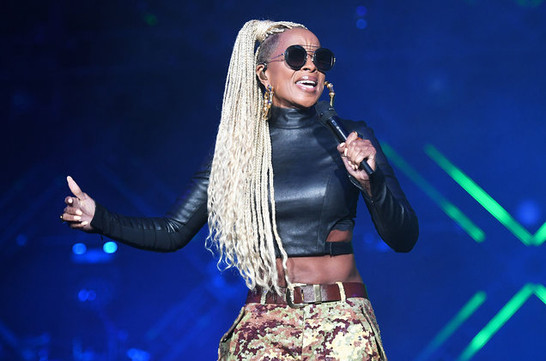 Mary J. Blige Box Braids