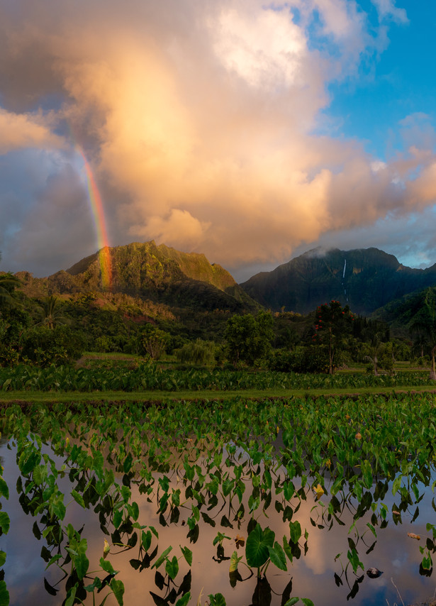 Kauai - Rainbow Sunset