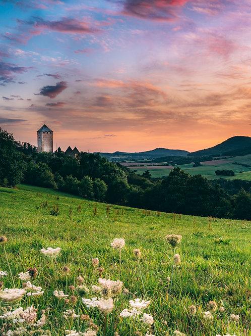 Burg Lictenberg Sunset 2