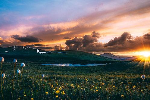 Continental Sunset 2 - Colorado
