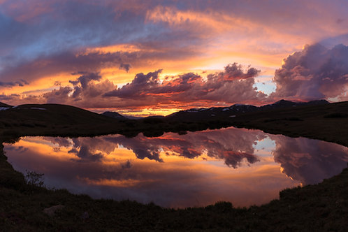 Continental Sunset - Colorado