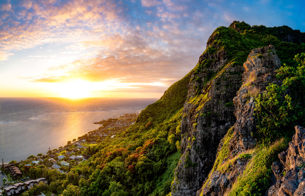 Hawaii - Crouching Lion Sunrise 4